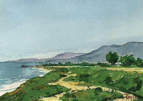 Bluffs facing Venoco by Ray Cole