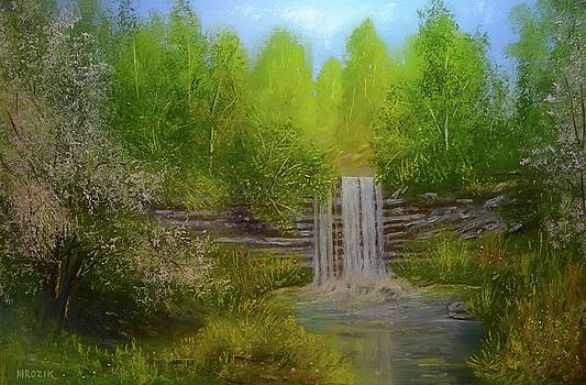 Cherry Blossoms by Michael Mrozik