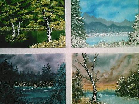 Colors Of Landscape by Jim Saltis