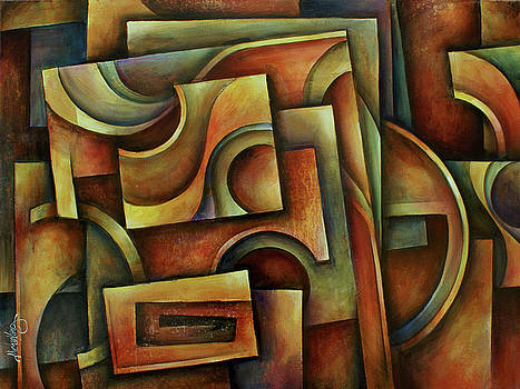 ' Evolution of Space ' by Michael Lang