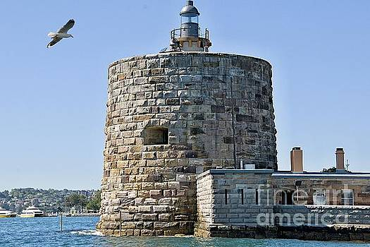 Fort Denison, in Sydney Harbour also known as Pinchgut Island. by Geoff Childs