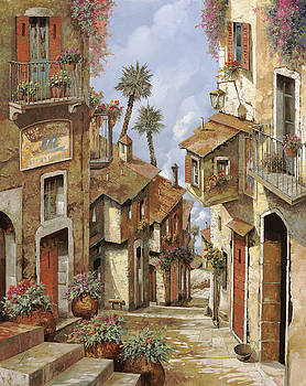 Le Palme Sul Tetto by Guido Borelli