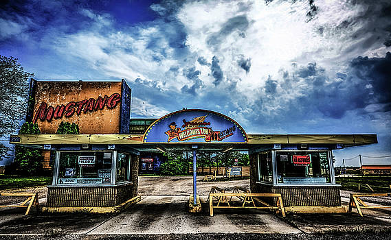 Mustang Drive In by Karl Anderson