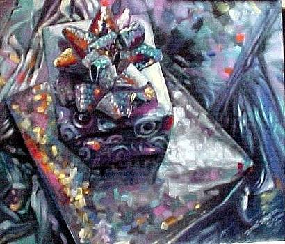 My  Mylar Gift by Bobbi Baltzer-Jacobo