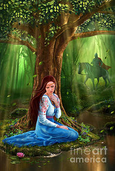 Mystery Fairy the Forest by Alena Lazareva