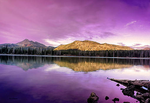 Reflections On Sparks Lake by Tyra OBryant