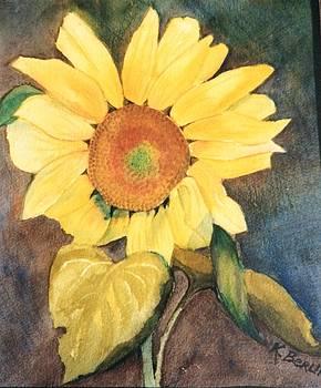 Sunflower 2 by Katherine  Berlin
