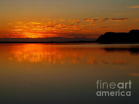 Sunrise Reflection by Trena Mara