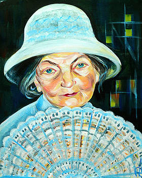 Anna  Duyunova -  The Old Fan