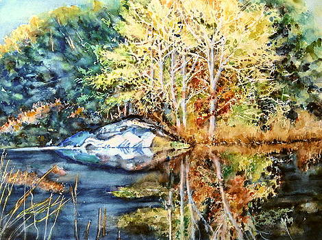 The Tree Across The Pond  by June Conte  Pryor