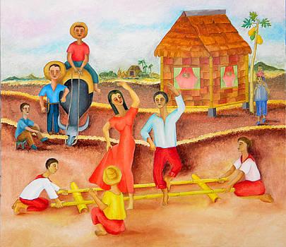 Tinikling by Miriam Besa