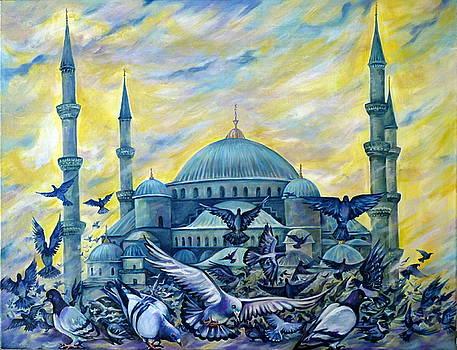Turkey. Blue Mosque by Anna Duyunova