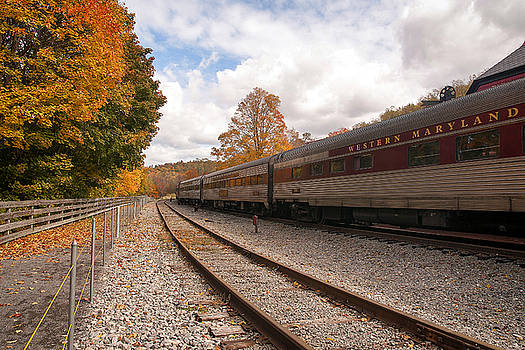 Western Maryland Scenic Railroad  by Richard Macquade