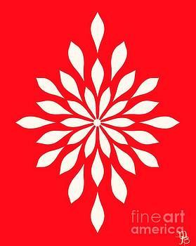 White Star Flower by Mindy Bench