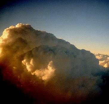031207-73   Sunset At 30000 Feet by Mike Davis
