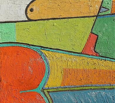 A202 Oil on canvas 24 x 24 2016 by Radoslaw Zipper