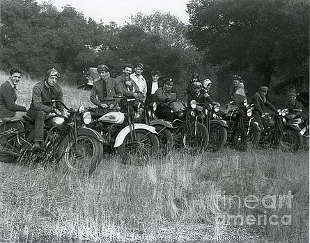 1941 Vintage Motorcycle Series by Sherry Harradence