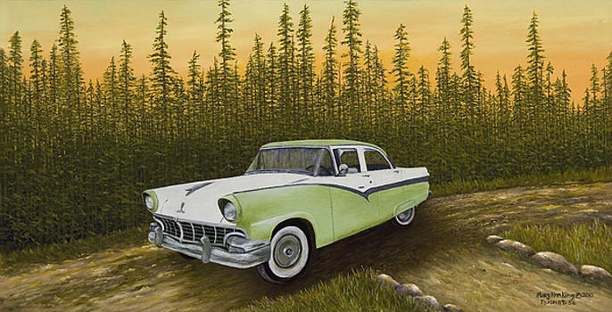 1956 Ford by Mary Ann King