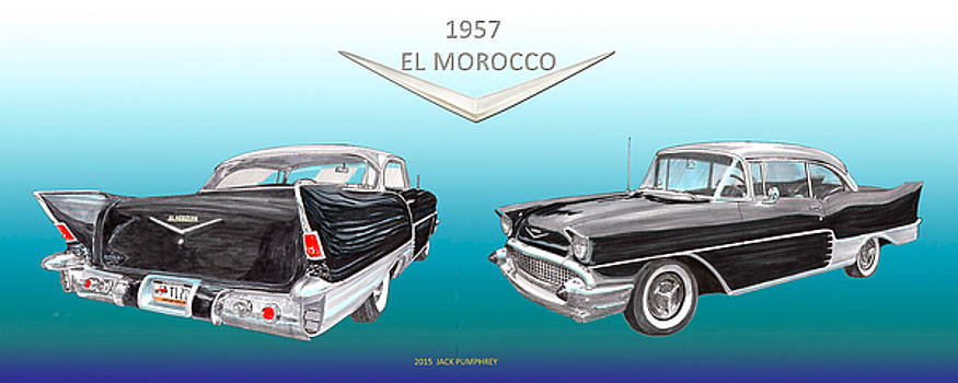 Jack Pumphrey - 1957 Chevrolet El Morocco Hard Top