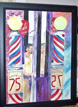 1957 Haircut NYC by Jack Donahue