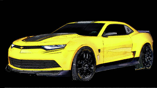 2016 Camaro - 6th Generation Chevy Camaro by Chas Sinklier
