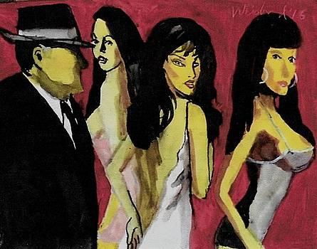 3 Graces Judgement of Paris by Harry WEISBURD