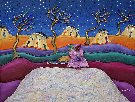 A Snowy Night by Anne Klar