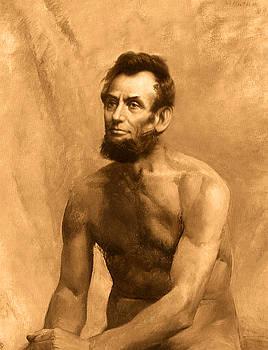 Abraham Lincoln Nude by Karine Percheron-Daniels