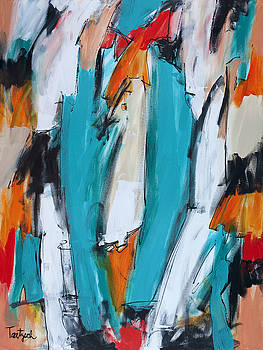 Abstract Art One by Lynne Taetzsch