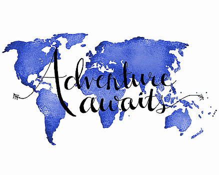 Adventure Awaits Blue by Michelle Eshleman