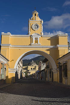 Antigua Old Town, Guatemala by Michele Falzone