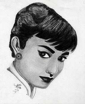 Audrey Hepburn by Bobby Dar