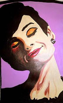 Audrey Hepburn  by Pauline Murphy