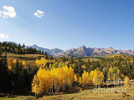 Autumn in the Sneffels Range by Alex Cassels
