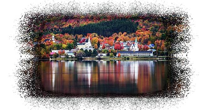 Autumn in Vermont by Sherman Perry