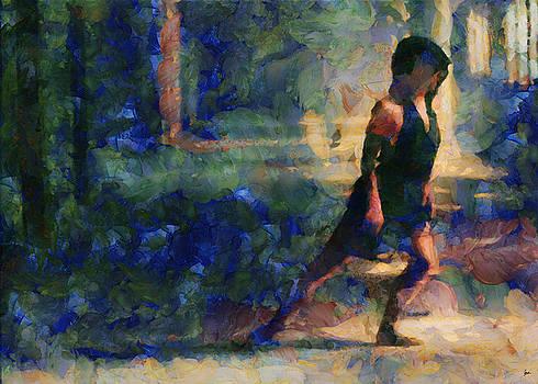 Ballerina queen.... by Sir Josef - Social Critic - ART