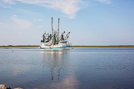 Bayou Shrimper by Scott Pellegrin