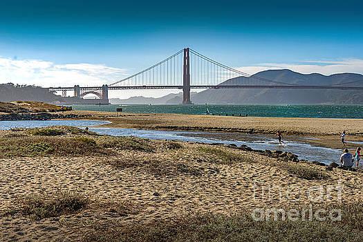 David  Zanzinger - Beach at Presidio Golden Gate
