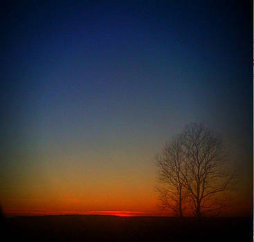 Beautiful ending to a beautiful day by Trisha Scrivner