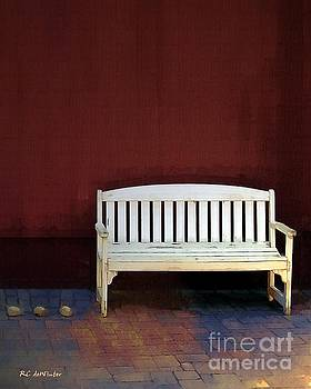 Bench by the Barn by RC deWinter