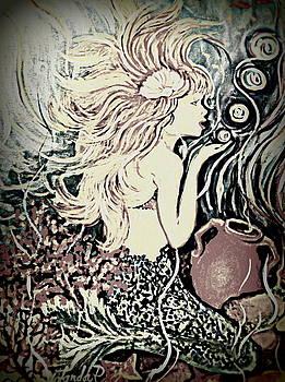 Blowing Bubbles by Yolanda Rodriguez