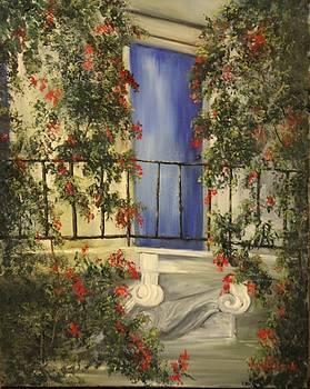 Blue Door by Jan Holman