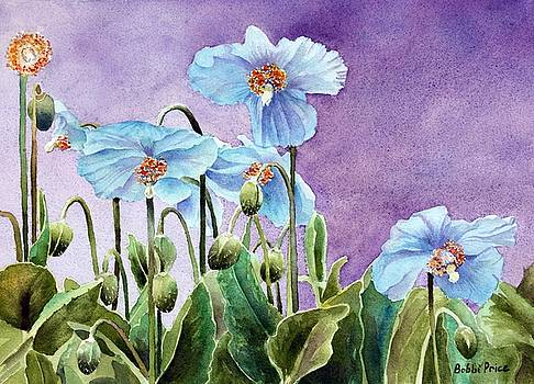 Blue Poppies by Bobbi Price