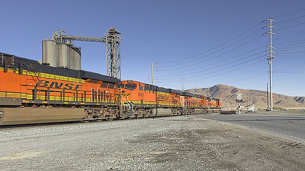 Bnsf5422 by Jim Thompson