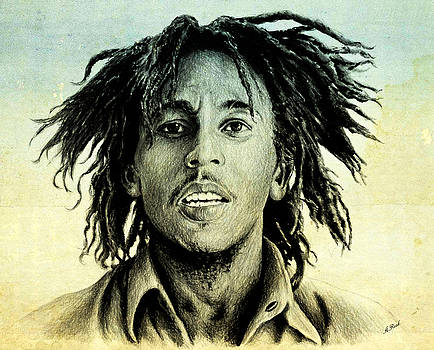 Bob Marley by Andrew Read