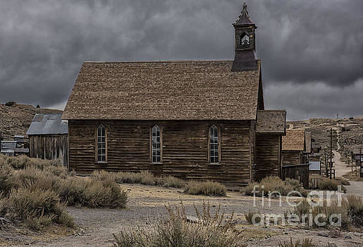 Sandra Bronstein - Stormy Day in Bodie State Historic Park