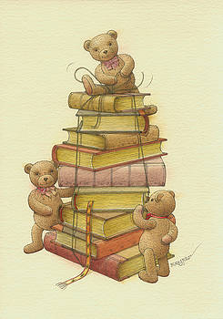 Kestutis Kasparavicius - Books and teddybears