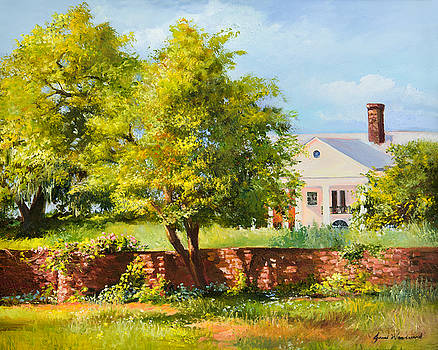 Boone Hall Plantation by Jane Woodward