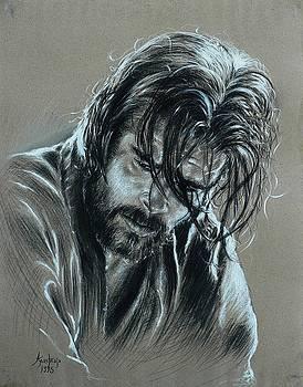 Brad Pitt by Anastasis  Anastasi