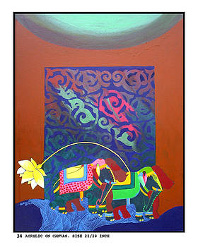 Bridal With Elephant by Shahzad Zar